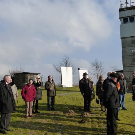 Besuch im Grenzmuseum Schlagsdorf am 13.02.2016