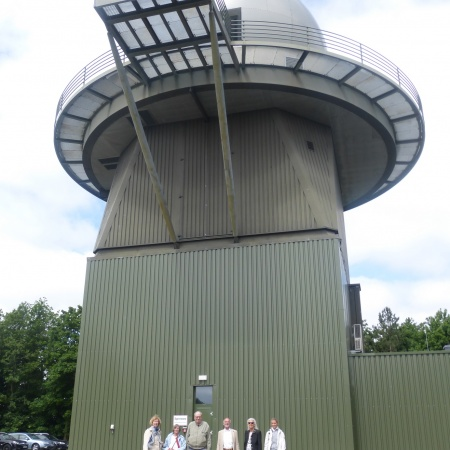 Besuch in der BW Radarstation Brekendorf am 8. 6. 2016